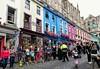 Muggles queuing in Diagon Alley (LanceAmbulance) Tags: edinburgh muggles victoriastreet diagonalley