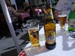 Local Jelen beer for lunch!