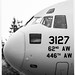 B&W Close-Up of the C-17 Nose