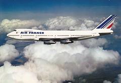 Postcard Air France B-747-228BM F-BPVS a (mugicalin) Tags: boeing boeing747 b747 b747428 airfrance fbpvs flugzeug plane cartepostale postcard razglednica oldpostcard ansichtkaart postkard cartoline cartolina aircraft années70 1977