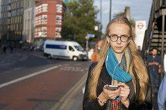 Caught in the App / Technoference London (ritzotencate) Tags: caughtintheapp technoference london addiction streetlondon2017 smartphone streetphotography streetportrait telefoon shoreditch
