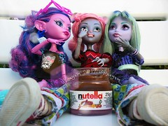 (Linayum) Tags: kjerstitrollson mouscedesking twyla mh monster monsterhigh mattel doll dolls muñeca muñecas toys juguetes nutella linayum