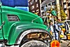 New York Truck - Surreal (jporter17191) Tags: lorry truck van newyork surreal new york street workmen posterized posterised tonemapped people man nyc coloured work road roadway