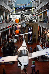 National Museum of Scotland (ongsoonkeat) Tags: oxfordsummerprogram edinburgh scotland plane flight people