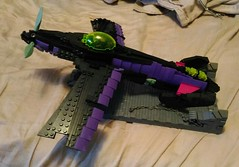 unseelie WIP 02 (Cagerrin) Tags: lego system plane airplane skyfi sleepingbeauty maleficent onceuponawing