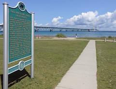 Mackinaw City (ionnature) Tags: northernmichigan lighthouse mackinacbridge