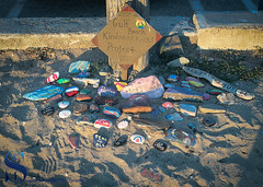Gulf Beach Kindness Rocks project_ (Singing With Light) Tags: 2017alpha6500 23rd gulfbeach milford mirrorless singingwithlight sonya6500 colorful photography september singingwithlightphotography sony sunrise walnutbeach
