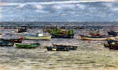 Barcas (alanchanflor) Tags: canon color impresion barcas tenerife españa textura atmósfera