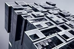 Building Blocks (Ian Sane) Tags: ian sane images buildingblocks slate pdx apartments portland oregon black white monochrome photography canon eos 5ds r camera ef1740mm f4l usm lens