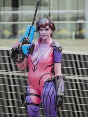 Widowmaker - Overwatch (Nattawot Juttiwattananon (NJ)) Tags: widowmaker overwatch cosplay portrait anirevo animerevolution2017 vancouverconventioncentre