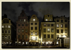 Dark Stockholm (Corinaldesi Roberto) Tags: stockholm night street sweden mistery dark grunge