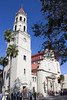 Cathedral Basilica of St. Augustine (Mike Sirotin) Tags: fla cathedralbasilicaofstaugustine church fl belltower neoclassical spanishmission palmtrees staugustine florida