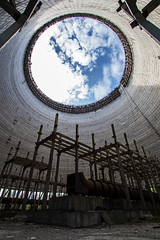 Reactor 6 Cooling Tower - Chernobyl (Craig Hannah) Tags: reactor6 coolingtower coolingtowers hole sky zoneofalienation radioactivecontamination exclusionzone chernobyl ukraine radiation structure craighannah abandoned derelict disused decay september 2017 explore 30kilometrezone