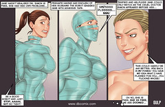 super adhesive mummification (DBComix) Tags: adult aliens bdsm bondage breast catfight chicks comics feet fetish fitness foot girls helpless hero hot humiliation jane latex match mistress mummification robot rubber scifi sex shen slave sport submission thighs tortured women wrestling xcom