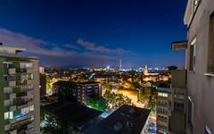 Starry night (Enrique EKOGA) Tags: slovenia ljubljana city night stars clouds buildings travel slovenija slovenie ultrawideangle nikon tokina longexposure light bluehour sky