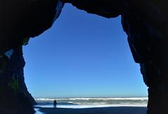 Sending a Cool Ocean Breeze (Karen McQuilkin) Tags: sendingacooloceanbreeze cave oregon pacific ocean mc