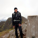 Me on the summit of Bidean a' Ghlas Thuill (1062m), my 87th Munro thumbnail