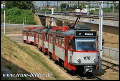 1176-2010-07-16-2-Hauptbahnhof (steffenhege) Tags: hallesaale strasenbahn streetcar tram t4d t4dc ckd 1176