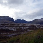 An Teallach seen across peat bog from the east thumbnail