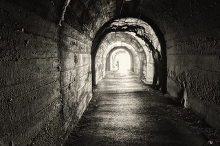Even In A Grungy Dark Tunnel It's All About The Light