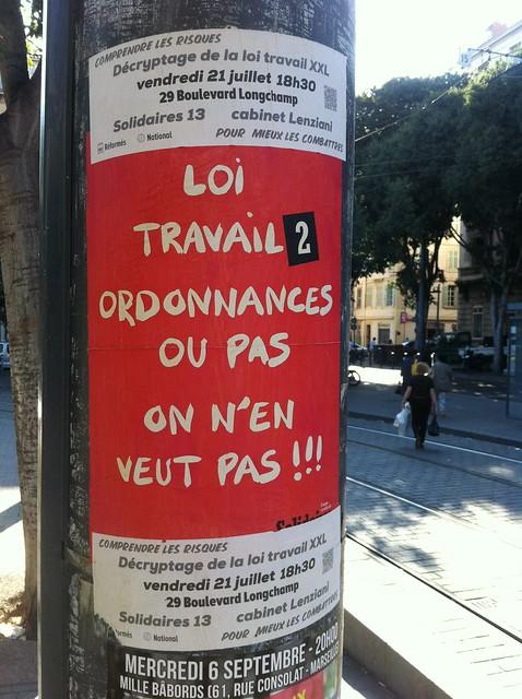 loi travail 2, ordonnanes ou pas, on n'en veut pas !!!
