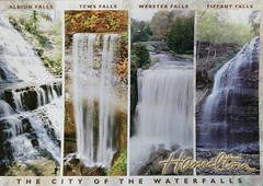 Ontario - Hamilton - The City of the Waterfalls (a_garvey) Tags: postcard postcrossing canada ontario hamilton waterfall available coralfish