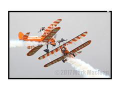 Scampton 2017 Breitling Wing Walkers 3 (Marks CVS) Tags: raf scampton 2017 airshow breitling wingwalkers boeing stearman biplane