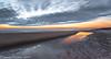 North Sands (Steven Peachey) Tags: seascape sea sand sky clouds colours hartlepool steetley ef1740mmf4l 5dmarkiv canon5dmarkiv leefilters lee09gnd formatthitech graduatedndfilter stevenpeachey lightroom ripples ocean sunrise le coast uk england northeast canon morning exposure northsands northeastengland longexposure