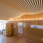 Indoor of Onagawa Station (女川駅)