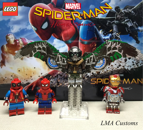 Moc Lego Spider Man Homecoming All Minifigures A Photo On Flickriver