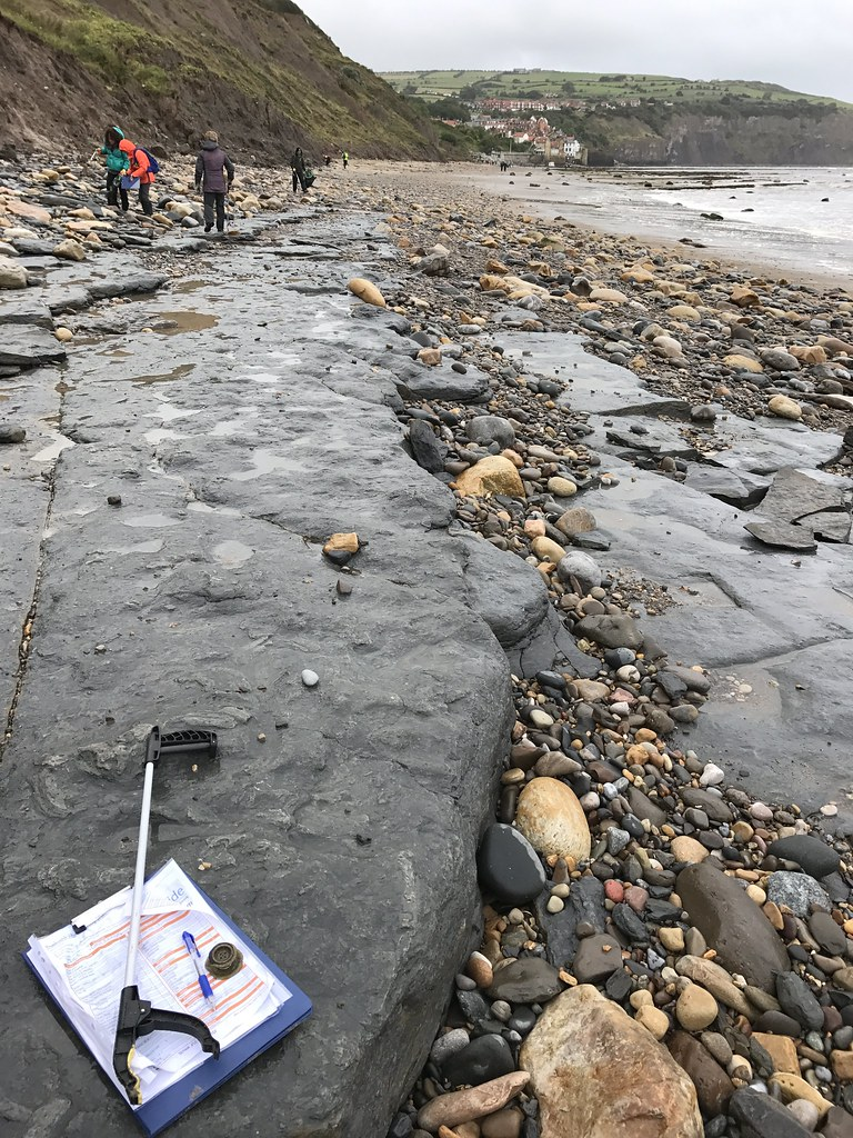 The Great British Beach Clean 2017, Robin Hoods Bay, North Yorkshire