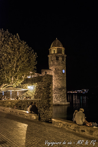"""Clocher de Collioure • <a style=""""font-size:0.8em;"""" href=""""http://www.flickr.com/photos/151667760@N04/37144726101/"""" target=""""_blank"""">View on Flickr</a>"""