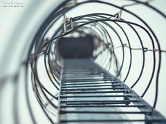 Escaleras al Cielo (diegogm.es) Tags: olympus omd omdrevolution em1 mzuiko75mmf18 profundidad escaleras torre seguridad bokeh mirrorless evil sinespejo microfourthirds micro43 microcuatrotercios