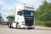 TV018105-Manchester. (day 192) Tags: manchester manchestercityfootballclub mcfc etihadstadium greatnorthwesttruckshow truckshow transportrally transportshow lorry lorries wagon truck jodysrust scania r560 scaniar560 sm63wmb