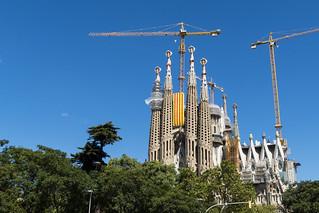 Diada's Day, Sagrada Familia