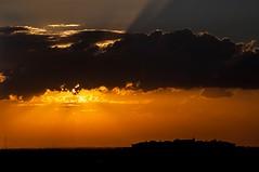 Atardecer desde mi ventana Zaragoza                                                                                           Sunset in Saragossa (westfalico) Tags: zaragoza cielo nubes sunset puestadesol atardecer sky summer aragon
