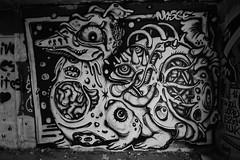 Nosbé (HBA_JIJO) Tags: streetart urban graffiti animal art france artist hbajijo wall mur painting aerosol peinture friche nosbe nosbé murale monster abandoned spray urbex monstro mural bombing blackandwhite urbain paris91 monstre urbaine creature monochrome noiretblanc culture