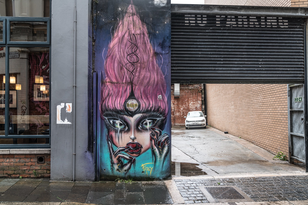 EXAMPLES OF URBAN CULTURE IN BELFAST [STREET ART AND GRAFFITI]-132899