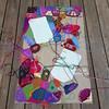 The center panel takes shape (crochetbug13) Tags: crochetbug crazyquiltcrochet embroideryoncrochet narrativecrochet crochetpanels crochetrectangles crochetsquares crochetblanket crochetafghan crochetthrow