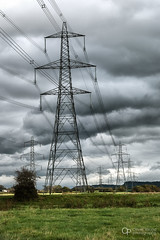 Northern Power Line (Oliver Wood Photography) Tags: pylons powerlines stanlow