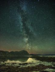 The Milky Way over Eilean Shona on Loch Moidart (bradders29) Tags: milkyway eileanshona moidart scotland stars nightsky grahambradshaw smirisary