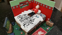 Boys Bedroom (Victorious_Sponge) Tags: boys bedroom birthday cake liverpool football theme bed 16th 18th 21st