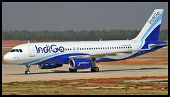 Indigo Airbus A320 VT-IGJ Bangalore (BLR/VOBL) (Aiel) Tags: indigo airbus a320 vtigj bangalore bengaluru