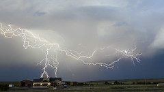 Closer than you think (Explored) (northern_nights) Tags: awesome lightningcomposite stacked lightning cheyenne wyoming