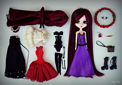Tag: My Doll Giftset (♪Bell♫) Tags: pullip bloody red hood moon rosenthal doll groove