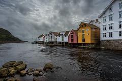 Sogndalstrand (Kurt Evensen) Tags: norway oldbuildings historical water sogndalstrand sky heritage rogaland sea harbourvillage shore no