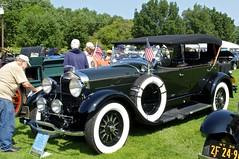 1929 Lincoln Sport Phaeton (pecooper98362) Tags: owego newyork hickoriespark antiquecarshow tiogaregionaaca antiqueautomobileclubofamerica 1929 lincoln sportphaeton modell fourpassenger lockesportphaeton industriousowner