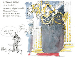 Opéra de Liège (gerard michel) Tags: liège opéra sketch croquis architecture aquarelle watercolour