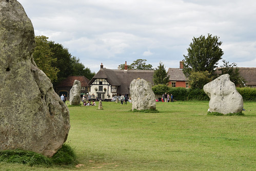 Avebury - the village in the stone circle
