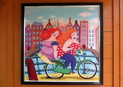 Amsterdam-May'17 (63) (Silvia Inacio) Tags: amsterdam amesterdão holanda holland thenetherlands painting bike bicicleta keukenhof lisse garden jardim park parque